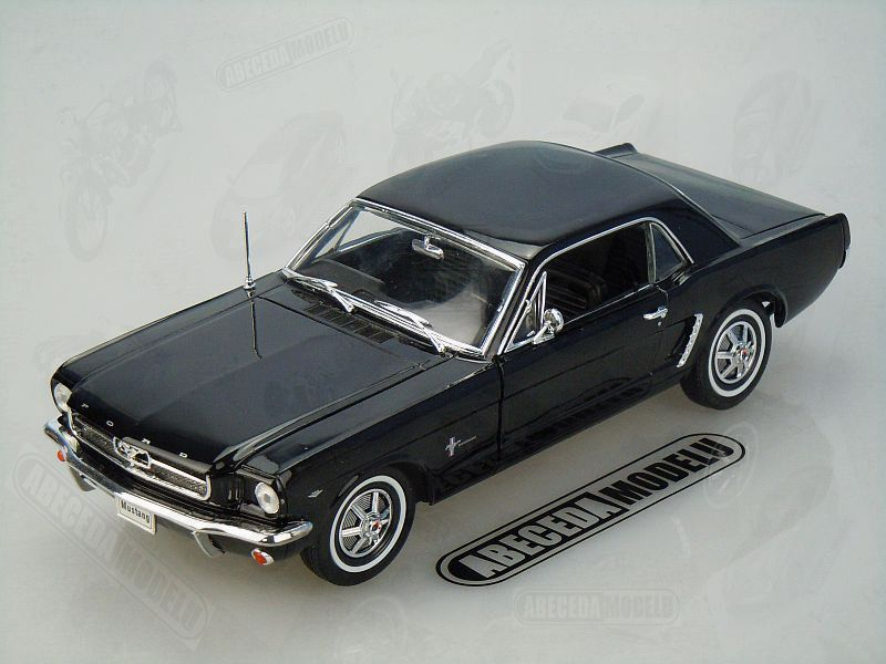 Welly 1:18 Ford Mustang 1/2 Coupe 1964 (black) code Welly 12519, modely aut