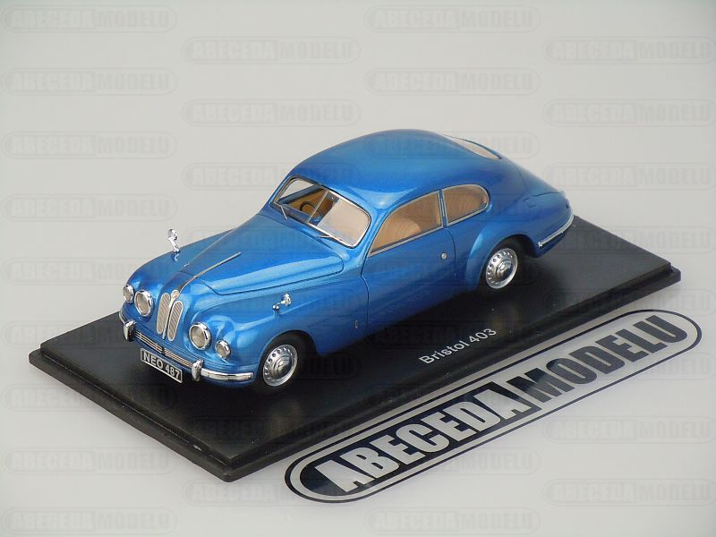 NEO Scale Models 1:43 Bristol 403 (blue) code NEO Scale Models NEO 45487, modely aut