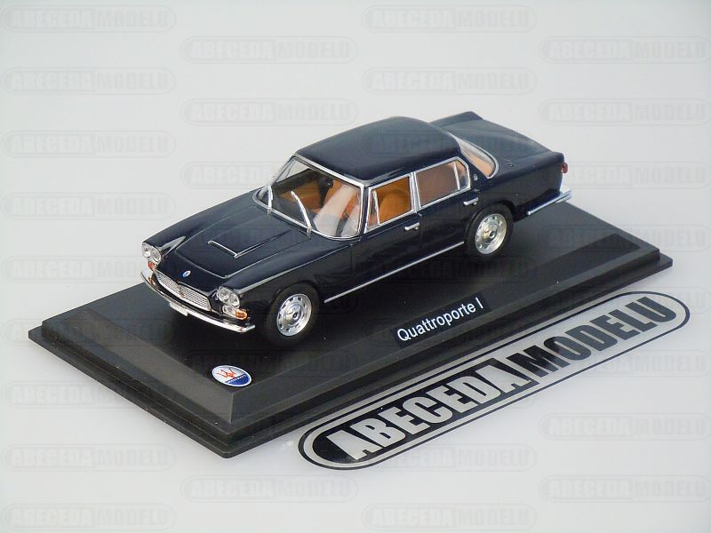 Whitebox 1:43 Maserati Quttroporte I (blue) code Whitebox WBS041, modely aut