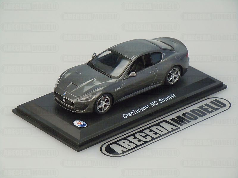 Whitebox 1:43 Maserati Granturismo MC Stradale (grey) code WBS040, modely aut