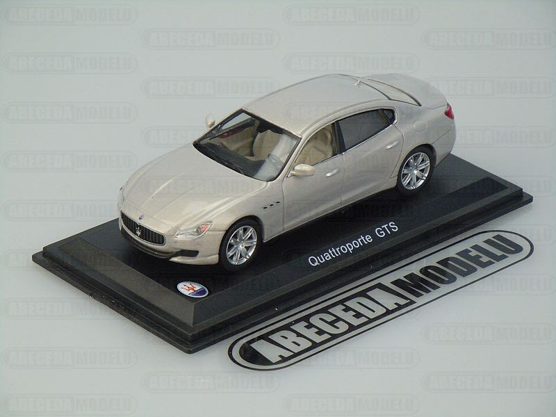 Whitebox 1:43 Maserati Quattroporte GTS (grey) code Whitebox WBS039, modely aut