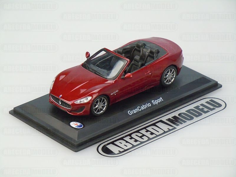 Whitebox 1:43 Maserati Grancabrio Sport (red) code Whitebox WBS031, modely aut