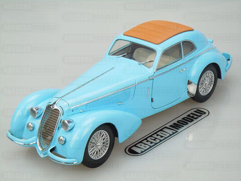 Minichamps 1:18 Alfa Romeo 8C 2900B Lungo (blue) code Minichamps 100120420, modely aut
