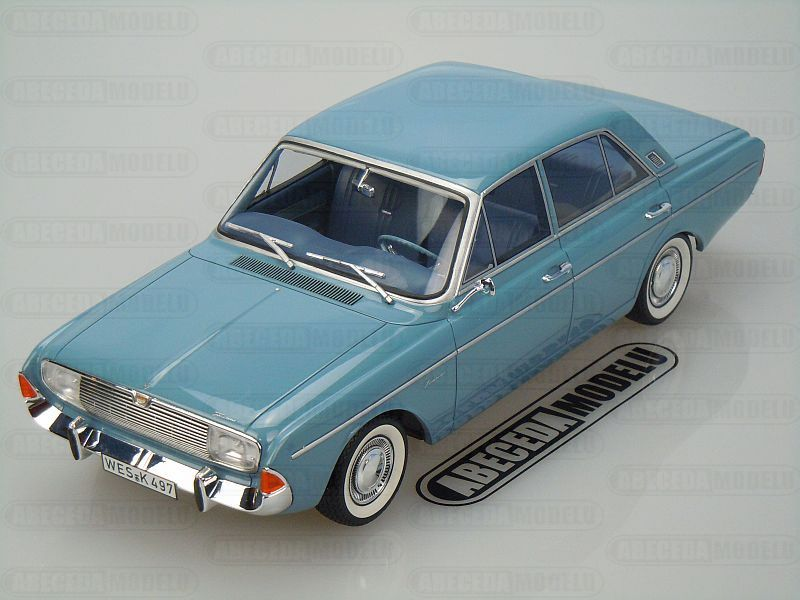 BoS-Models 1:18 Ford Taunus 20M P5 1965 (blue) code BoS 016, modely aut