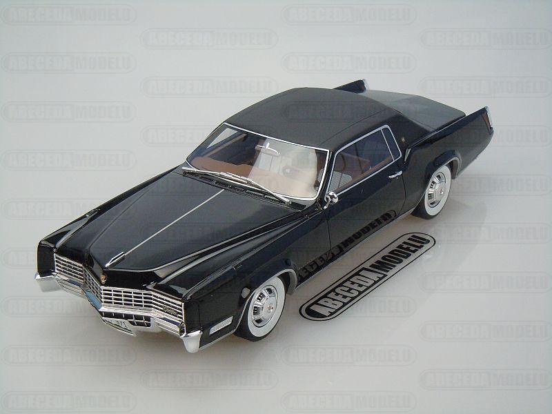 BoS-Models 1:18 Cadillac Eldorado Coupe 1967 (black) code BoS 064, modely aut