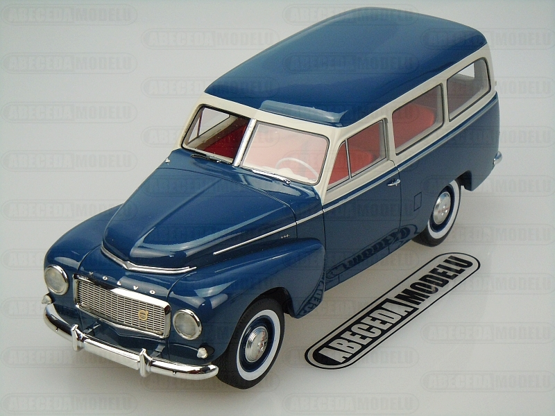 BoS-Models 1:18 Volvo PV445 Duett 1956 (blue) code BoS 092, modely aut