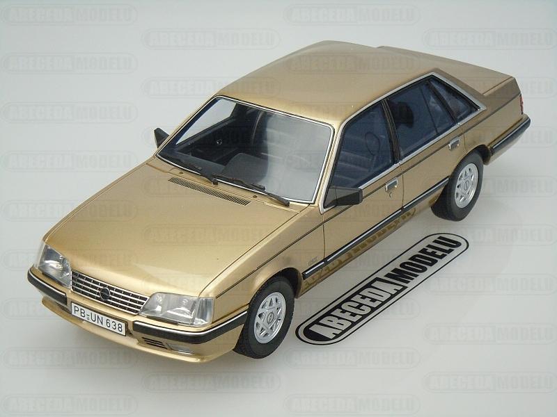 BoS-Models 1:18 Opel Senator A2 3.0 CD 1984 (gold) code BoS 018, modely aut