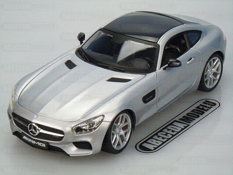 Maisto 1:18 Mercedes Benz AMG GT (silver) code Maisto 36204, modely aut