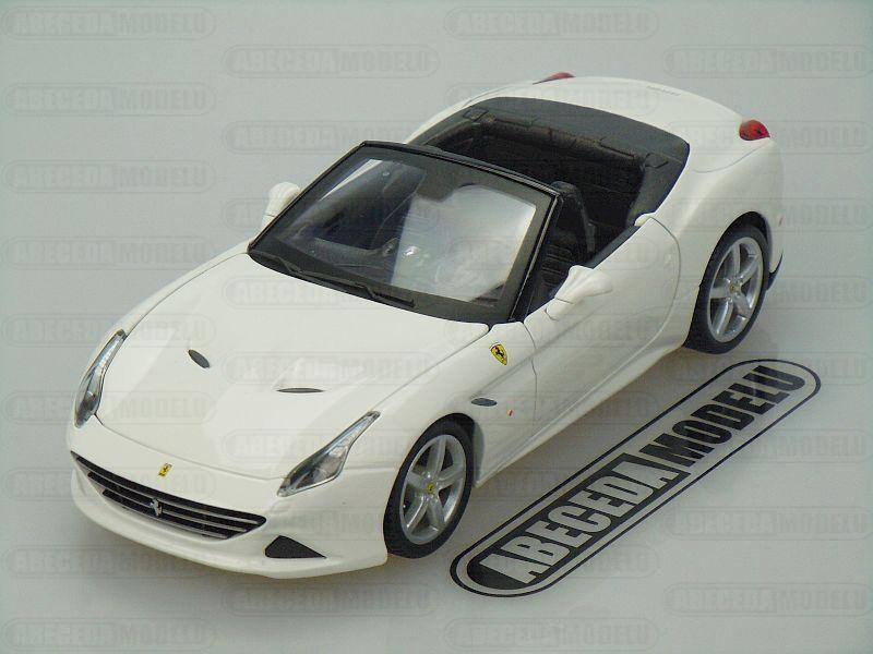 Bburago 1:24 Ferrari California T open top (white) code Bburago 26011