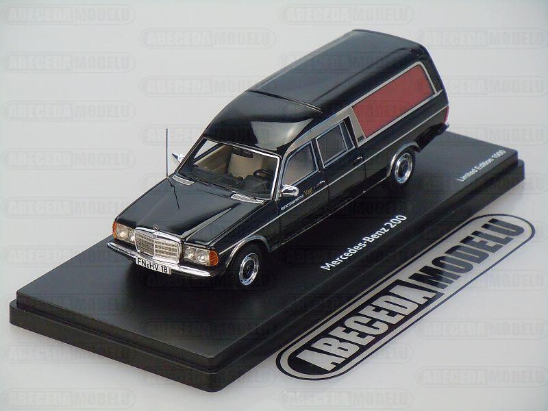 Schuco 1:43 Mercedes Benz 200 Funeral (black) code Schuco 450890700, modely aut