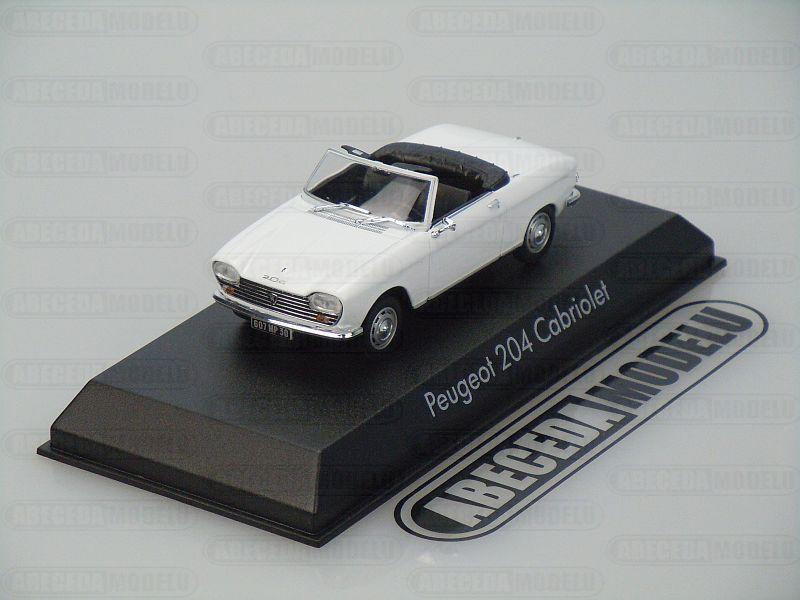Norev 1:43 Peugeot 205 Cabriolet 1967 (white) code Norev 472442, modely aut