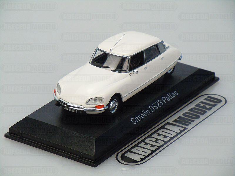 Norev 1:43 Citroen DS 23 Pallas 1973 (white) code Norev 157073, modely aut