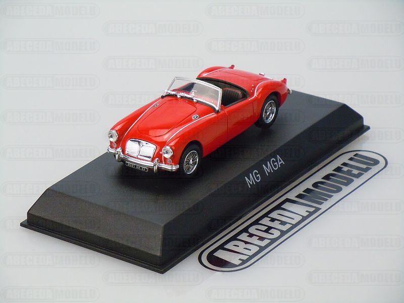 Norev 1:43 MG MGA Roadster 1956 (red) code Norev 370022, modely aut