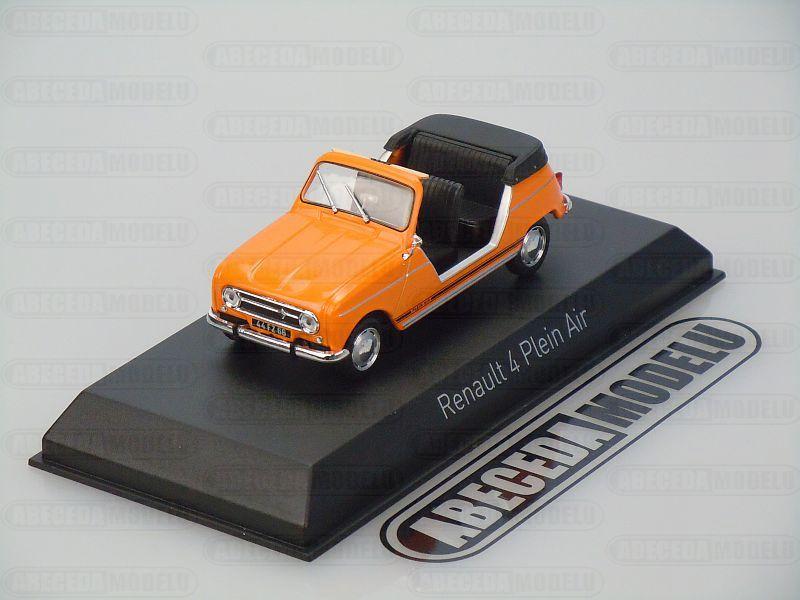 Norev 1:43 Renault 4L Plein Air 1968 (orange) code Norev 510044, modely aut