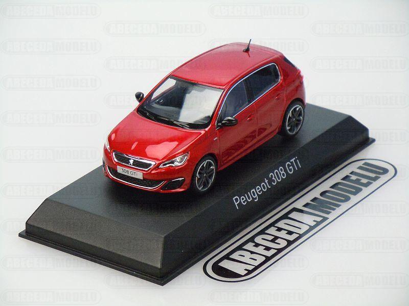 Norev 1:43 Peugeot 308 GTi 2015 (red) code Norev 473823, modely aut