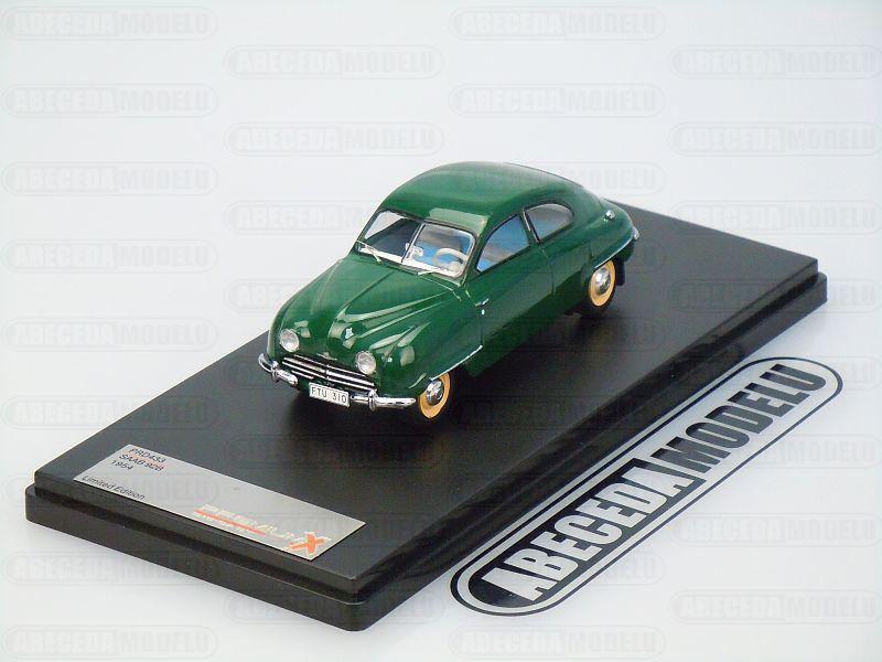 Premium X 1:43 Saab 92B 1954 (green) code Premium X PRD433, modely aut