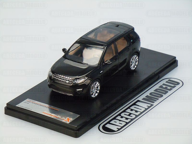 Premium X 1:43 Land Rover Discovery Sport 2015 (black) code Premium X PRD401, modely aut
