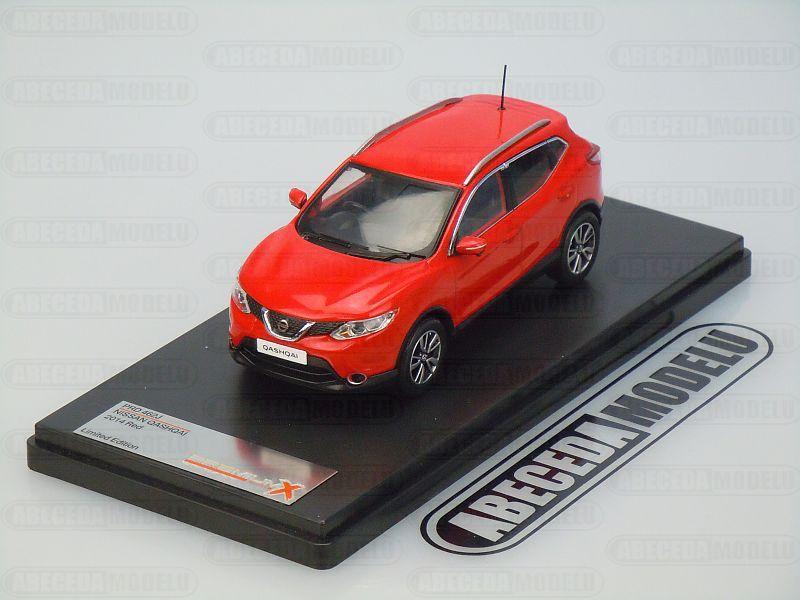 Premium X 1:43 Nissan Qashqai 2014 (red) code Premium X PRD462, modely aut