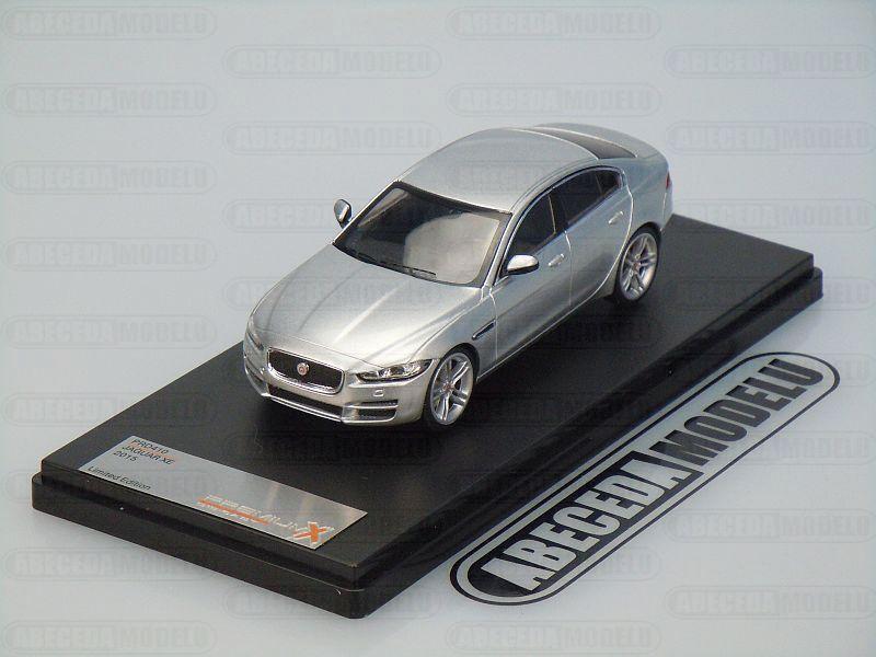 Premium X 1:43 Jaguar XE 2015 (silver) code Premium X PRD410, modely aut