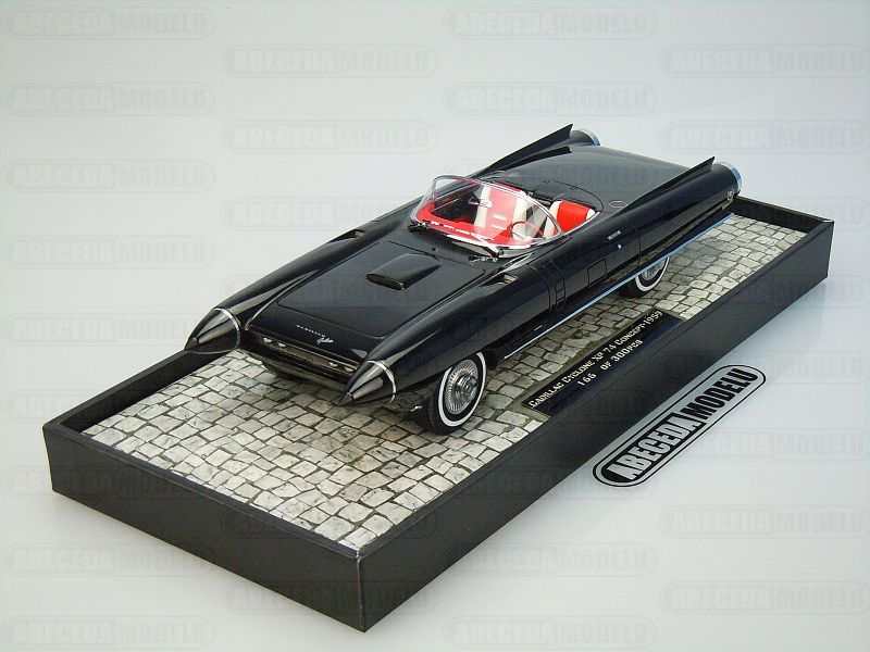 Minichamps 1:18 Cadillac Cyclone XP 74 Concept 1959 (black) code Minichamps 107148221, modely aut