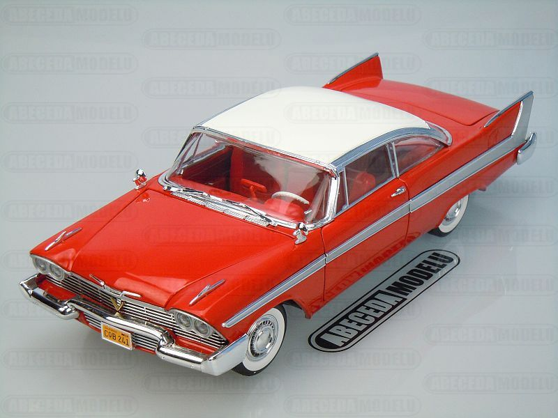 Auto World (Ertl) Plymouth Fury Christine (red) code Ertl AWSS108, modely aut