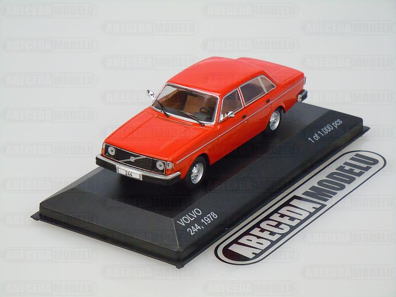 Whitebox 1:43 Volvo 244 1978 (red) code Whitebox WBS0129, modely aut