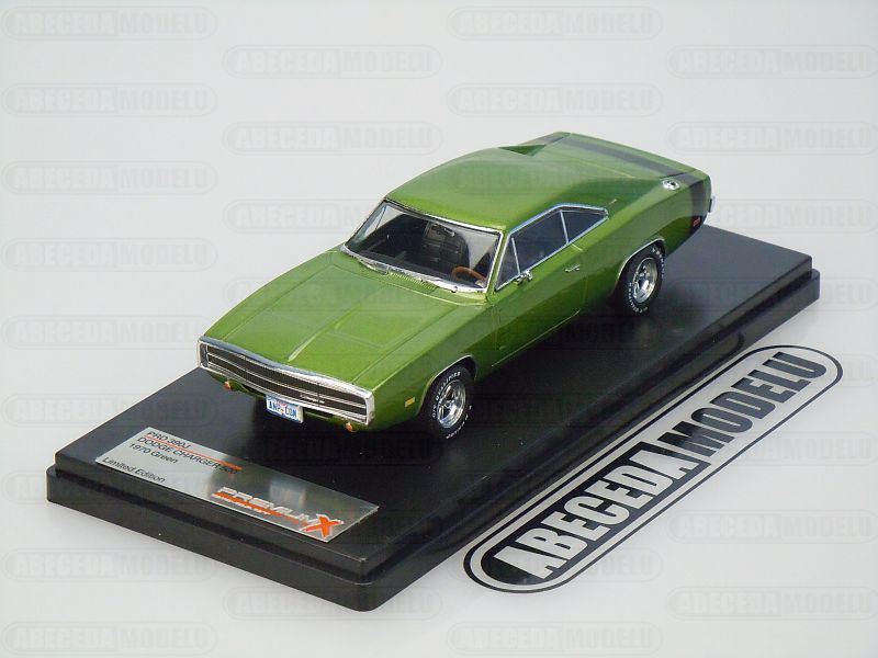Premium X 1:43 Dodge Charger 500 1970 (green) code Premium X PRD390, modely aut