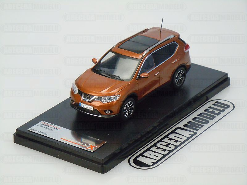 Premium X 1:43 Nissan X-Trail 2014 (orange) code Premium X PRD419, modely aut