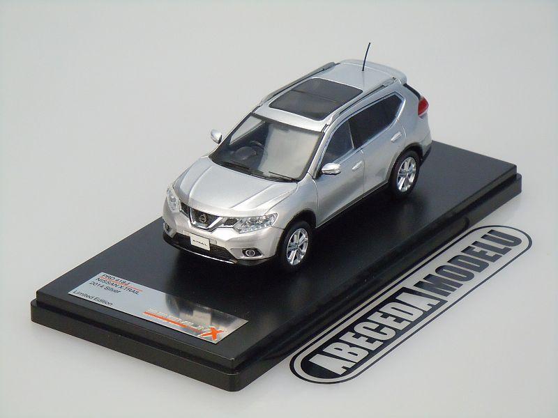 Premium X 1:43 Nissan X-Trail 2014 (silver) code Premium X PRD418, modely aut