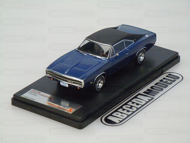 Premium X 1:43 Dodge Charger 500 1970 (blue) code Premium X PRD389, modely aut