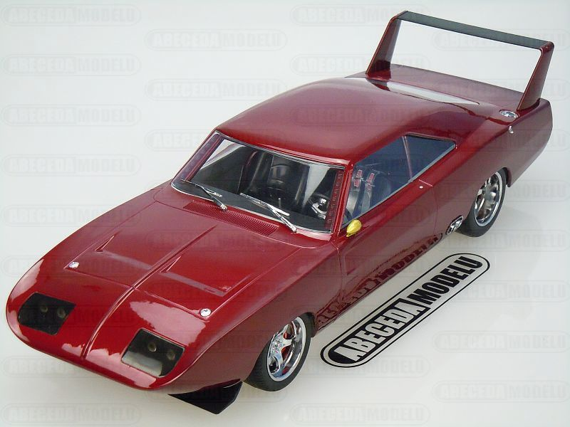Greenlight 1:18 Dom's Dodge Charger Daytona 1969 (red) Fast & Furious 7 code Greenlight 19003, modely aut