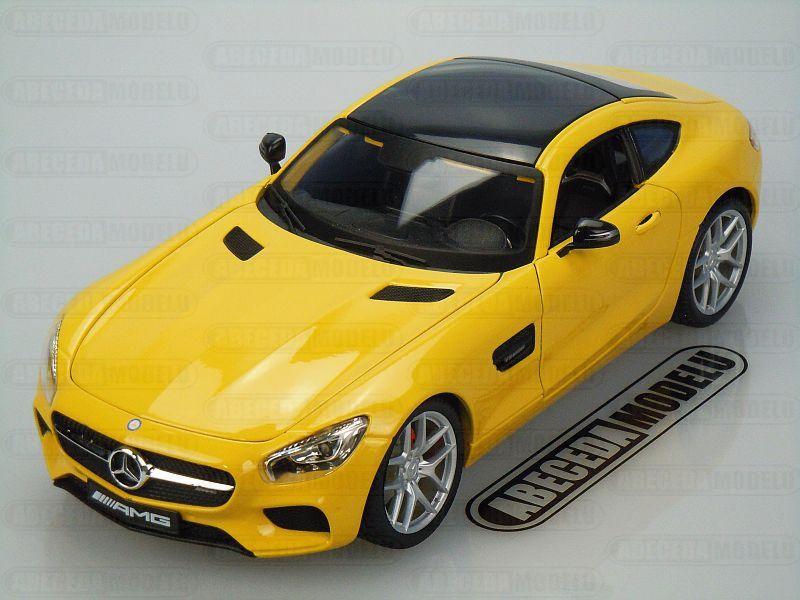 Maisto 1:18 Mercedes Benz AMG GT (yellow) code maisto 36204, modely aut