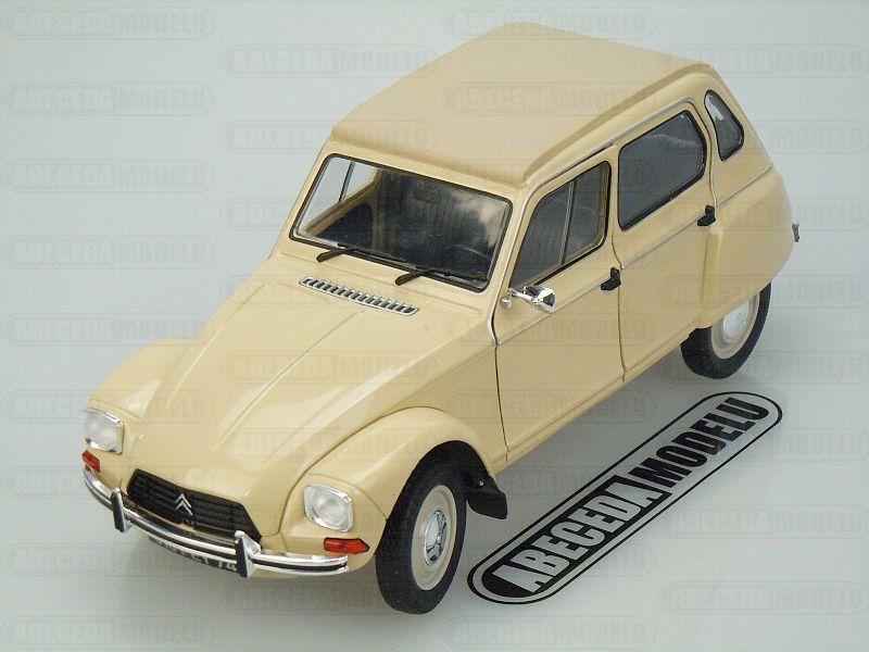 Solido 1:18 Citroen Dyane 6 1967 (beige) code Solido 421183850, modely aut