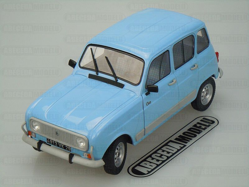 Solido 1:18 Renault 4 GTL 1978 (blue) code Solido 421183820, modely aut