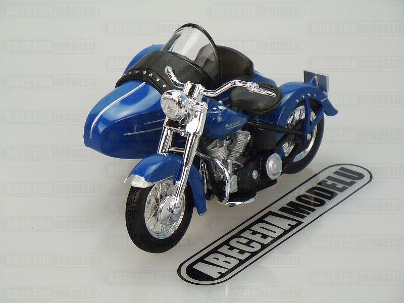 Maisto 1:18 Harley Davidson FL Hydra Glide 1952 Sidecar (blue) code Maisto 32420, model motocyklu