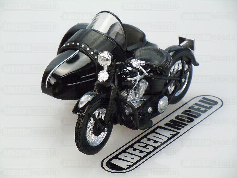 Maisto 1:18 Harley Davidson FL 1948 Sidecar (black) code Maisto 32420, model motocyklu