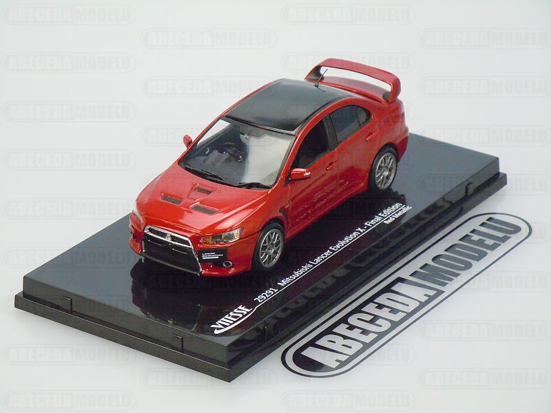 Vitesse 1:43 Mitsubishi Lancer Evolution X - Final Edition (red) code Vitesse 29291, modely aut