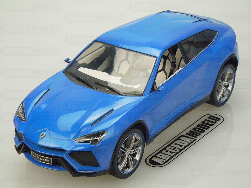Modelcar Group 1:18 Lamborghini Urus (blue) code Modelcar Group 18020, modely aut