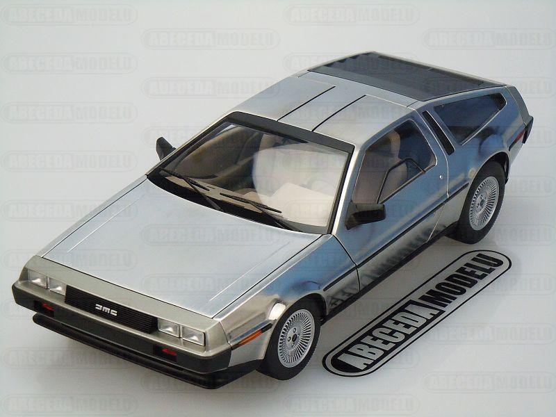 Autoart 1:18 DeLorean DMC-12 1981 (satin finish) code Autoart 79911, modely aut