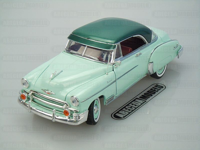 Motor Max 1:18 Chevrolet Bel Air 1950 (green) code Motor Max 73111, modely aut