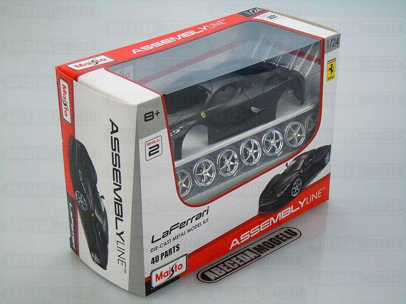 Maisto 1:24 LaFerrari Kit (black matt) code Maisto 39129, modely aut