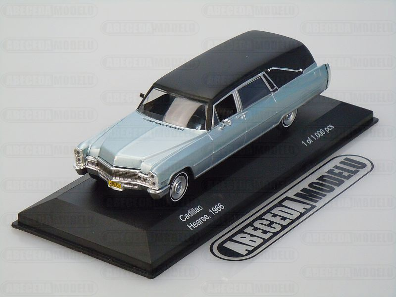 Whitebox 1:43 Cadillac Hearse (silver) code WB137 201259, modely aut