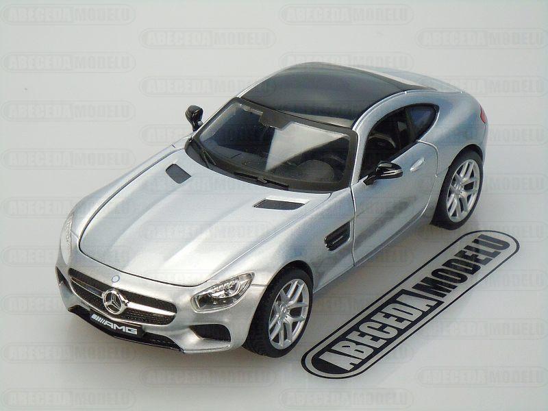 Maisto 1:24 Mercedes Benz AMG GT (silver) code Maisto 31134, modely aut