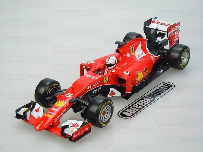 Bburago 1:18 Ferrari SF15-T F1 S. Vettel 2015 code Bburago 16801, modely aut