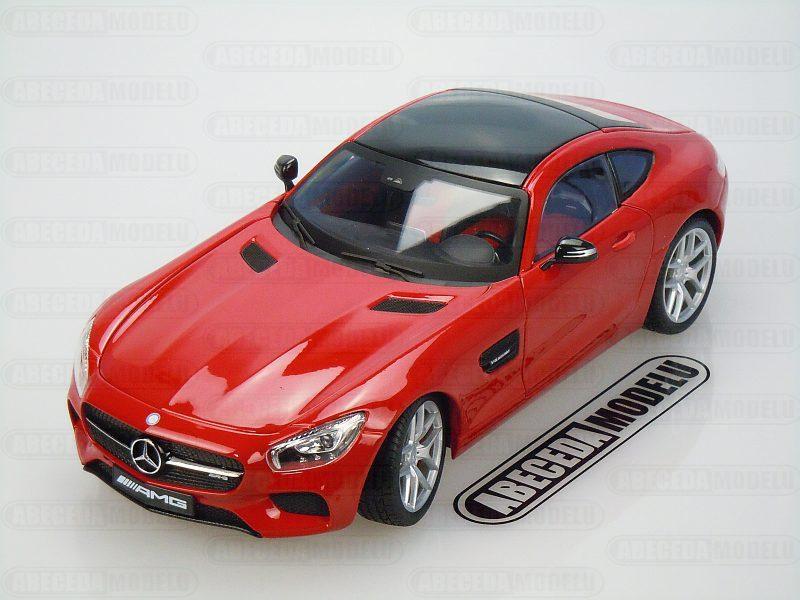 Maisto 1:18 Mercedes Benz AMG GT (red) code Maisto 38131, modely aut