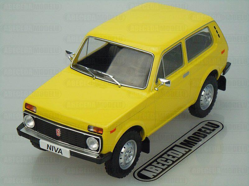 Model Car Group 1:18 Lada Niva 1976 (yellow) code 18001, modely aut