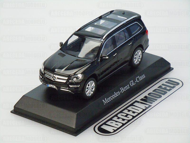 Norev 1:43 Mercedes Benz GL500 2012 (black) code Norev 351335, modely aut