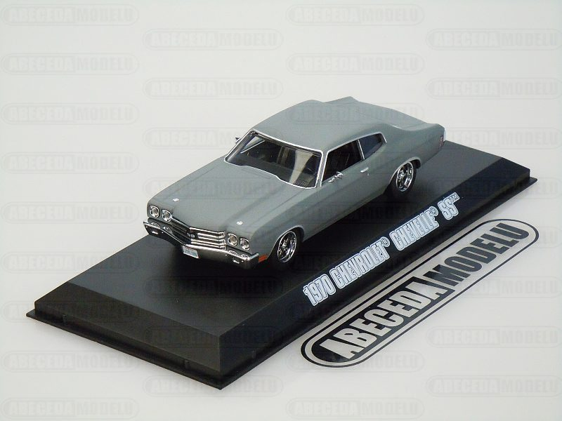 Greenlight 1:43 Chevrolet Chevelle SS 1970 Dom Fast & Furious 4 code Greenlight 86227, modely aut