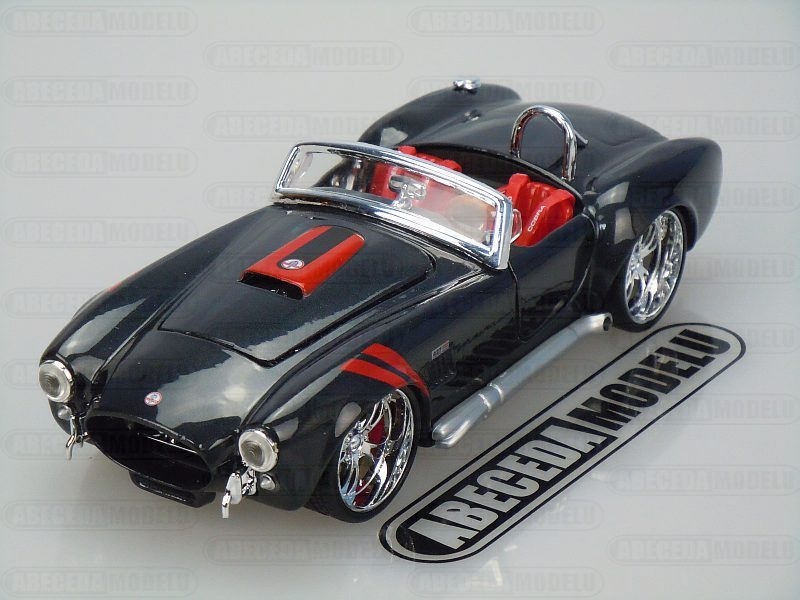 Maisto 1:24 Ford Shelby Cobra 427 1965 Custom (grey) code Maisto 31325, modely aut