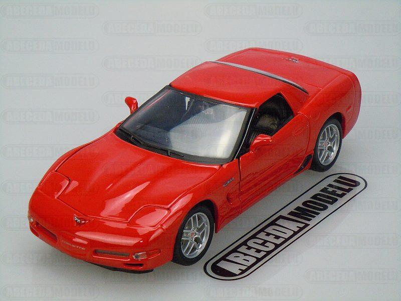Maisto 1:24 Chevrolet Corvette Z06 (red) code Maisto 31989, modely aut